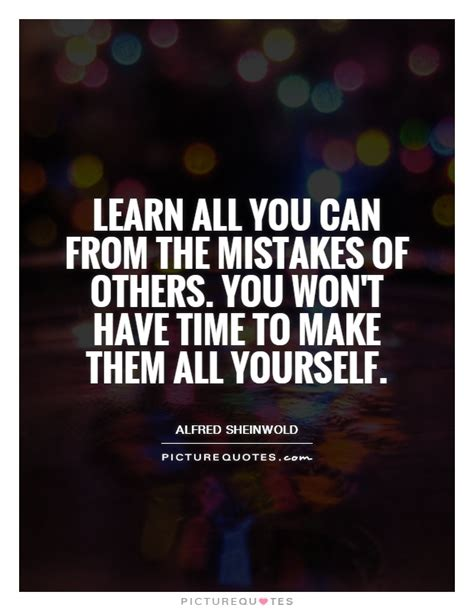 business lessons learned  mistakes quotes quotesgram