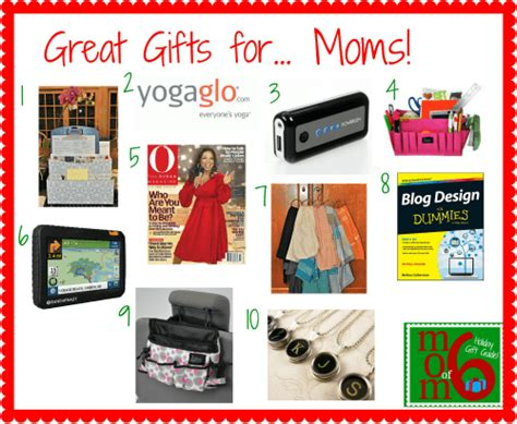 10 Great Holiday Gifts For Moms!
