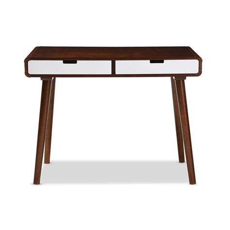 bw it help desk baxton studio casarano mid century modern dark walnut and