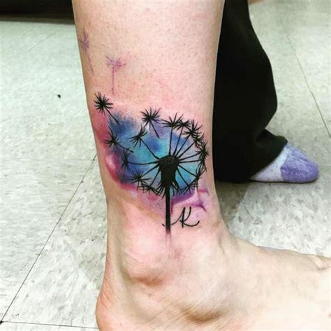 devastatingly delightful dandelion tattoos tattooblend