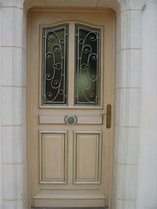 Porte Entree Maison : peintures et enduits angers par le peintre thierry chatelain ~ Premium-room.com Idées de Décoration