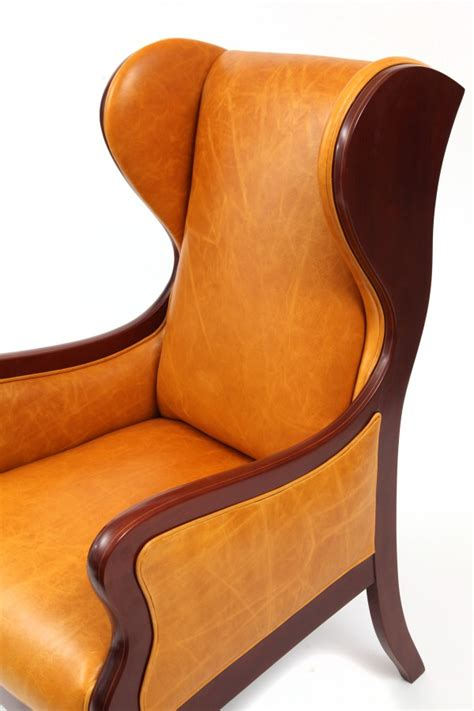 wingback chairs frits henningsen wingback lounge chair modern furniture