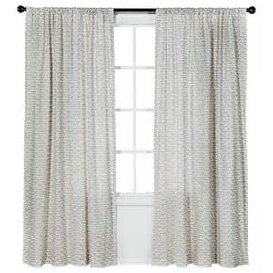 Nate Berkus Origami Curtains by Nate Berkus Origami Print Curtain Panel Target