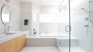 avant apres transformer une salle de bains quelconque With salle de bain design avec branche décorative lumineuse