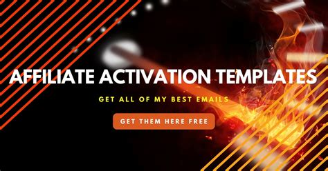 Activation Email Template by Affiliate Activation Email Templates