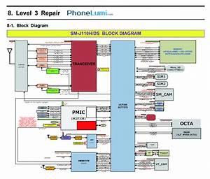 Samsung Galaxy J1 Ace J110h Schematics