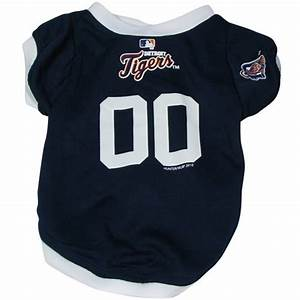 Detroit tigers mlb dog jersey for Dog jerseys mlb