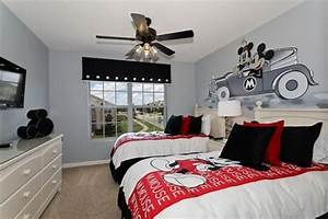 Themed rooms disney inspired spaces for Disney bedroom decor