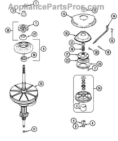 parts  maytag mavaww transmission parts appliancepartsproscom