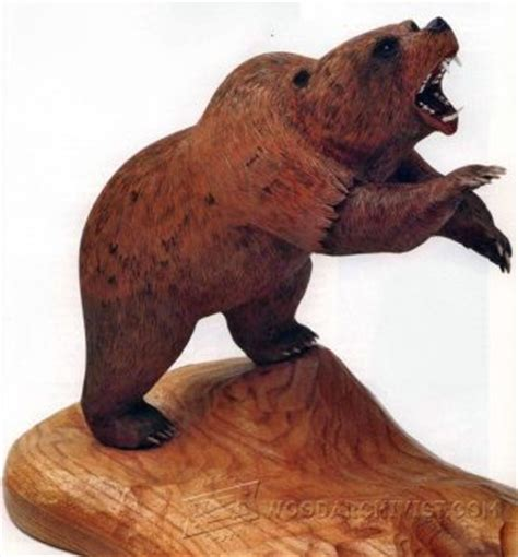carving teddy bear wood carving patterns woodarchivist