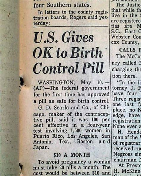 birth control pill legal   rarenewspaperscom