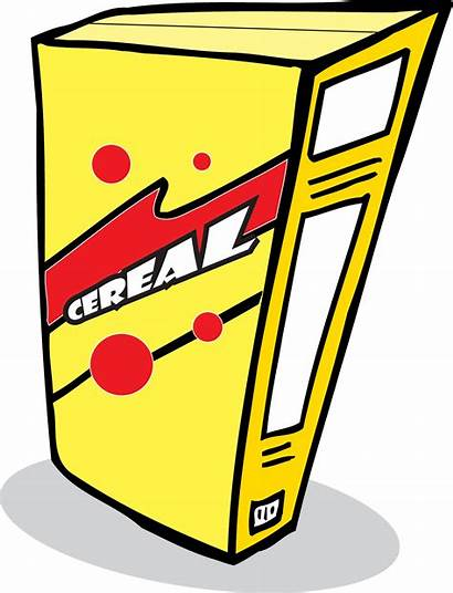 Cereal Cartoon Clipart Bowl Boc Clipground Clipartmag