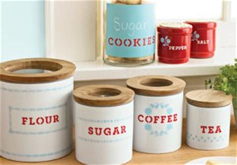 Martha Stewart Kitchen Canisters by Martha Stewart Knockoff Canisters Favecrafts