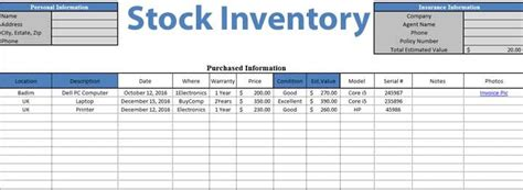 daily stock maintain template  excel sheet excel