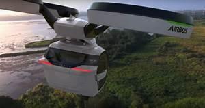Voiture Volante Airbus : innovation airbus d voile son concept de voiture volante ~ Medecine-chirurgie-esthetiques.com Avis de Voitures