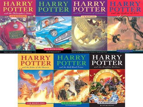 Jk Rowling Complete Harry Potter 7 Books Collection Set