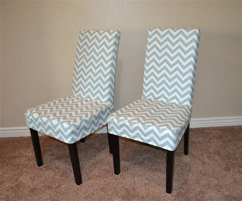 parsons chair slipcover tutorial     parsons