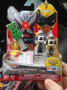 Power Rangers Super Megaforce Silver Ranger Morpher Ebay ...