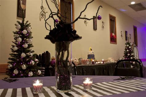 nightmare before christmas birthday party ideas photo 14