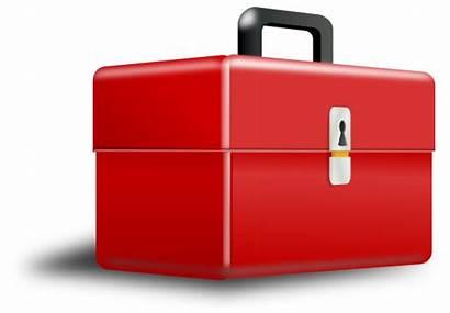 Box Tool Metal Clip Clipart Vector Clker