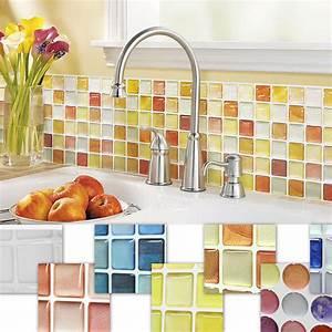 Home Decor Mosaic Tile Bathroom Kitchen Removable 3D ...