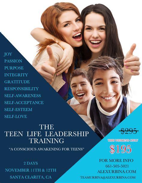 teen life leadership training november