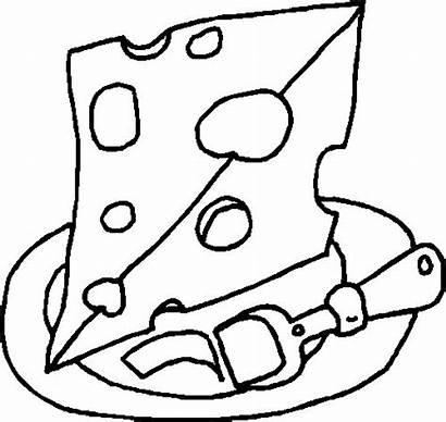 Coloring Pages Cheese Dairy Preschool Healthy Adult