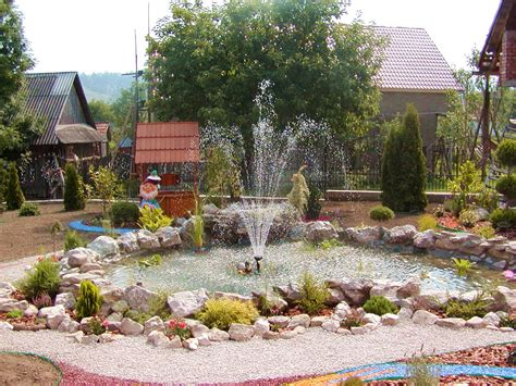 outdoor landscape landscape garden design with fountain