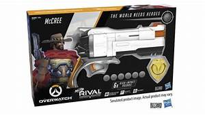 Blizzard And Hasbro Announce Overwatch McCree Nerf Blaster