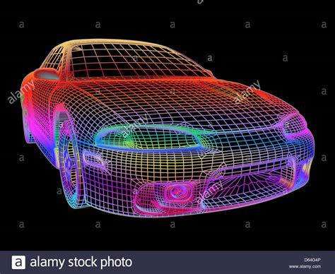 computer aided design computer aided design of a car stock photo royalty free