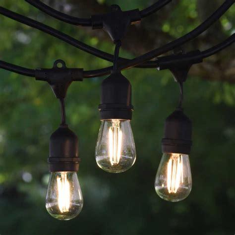 led outdoor string lights s14 light bulbs iron