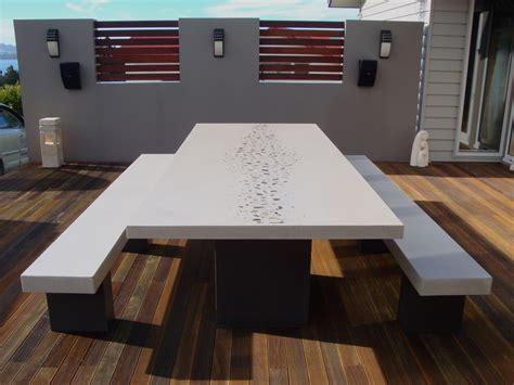 concrete furniture  flowing stone concrete design