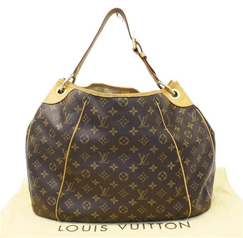 authentic louis vuitton monogram galliera gm shoulder tote handbag