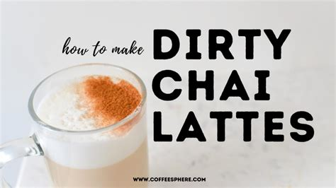 A definitive yes or no may not be accurate. How to Make a Dirty Chai Latte (aka Espresso and Chai Tea!)