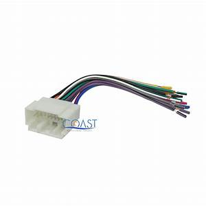 Car Stereo Wire Harness To Factory Harness Select 1998