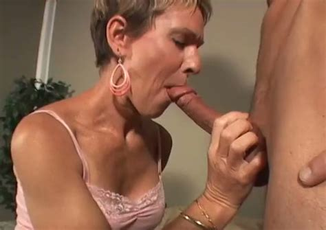 Short Haired Milf Is Ready For Anything Just To Suck Cock
