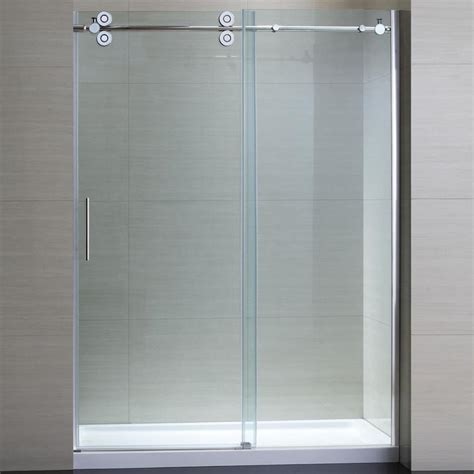 frameless sliding glass shower doors large home ideas