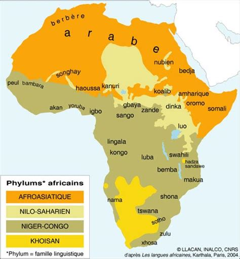 Carte Du Monde Afrique Subsaharienne by Falun Fr Afrique