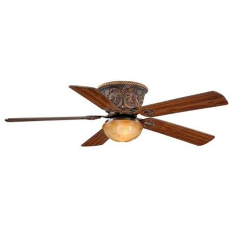 Home Depot Flush Mount Ceiling Fan by Aireryder Corazon 52 In Aged Bronze Flushmount Ceiling