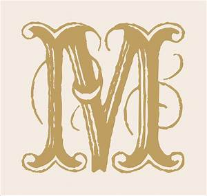 Stencils monogram letters a z 6 large wedding by for Large monogram letter stencil