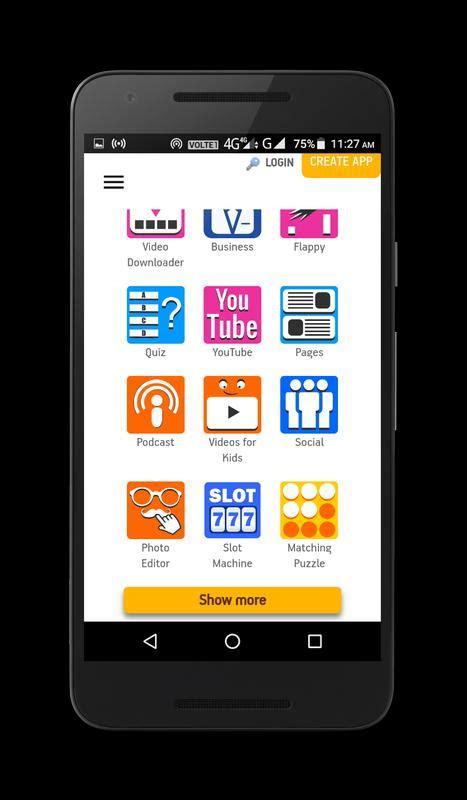 appgeyser  app creator  android apk