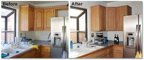 replacing kitchen cabinet doors before and after r 233 nover sa cuisine 5 astuces faciles juste du neuf 9752