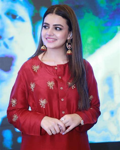 beautiful zara noor abbas durring promotion   film