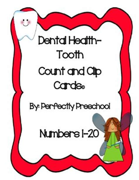 dental health count and clip from perfectly preschool on 650 | f1f774a2c2ef17d08d26f4297ef976b3