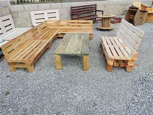 Fabrication Avec Palette : meuble en palette bois amazing fabrication meuble avec palette bois inspiration design ~ Preciouscoupons.com Idées de Décoration
