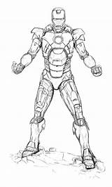 Coloring Iron Printable Related sketch template