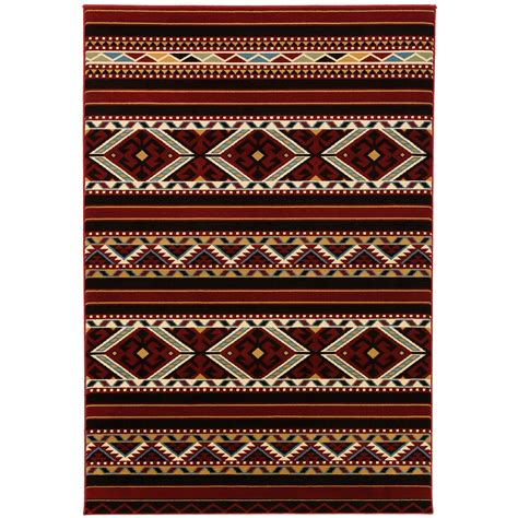Flooring & Rugs: Best Aztec Rug Design Perfectly Fit To