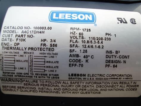 i am trying to wire a leeson a4c17dh4h to my boat lift controller