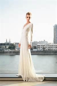 brautkleider langarm brautkleid langarm schlicht 2 wedding dresses brautkleider