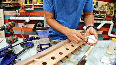 diy baseball bat display rack woodworking plans pahjo